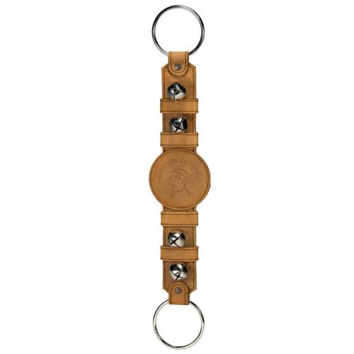 Leather Sleigh Bell Door Hanger strap
