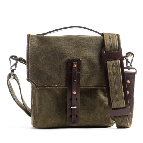 Indiana Weatherproof Canvas Satchel