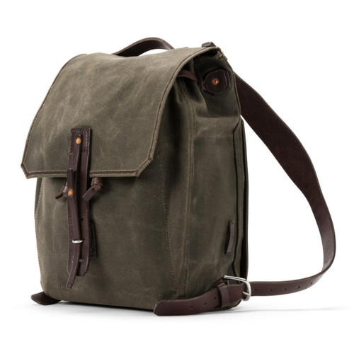 Simple Weatherproof Canvas Backpack