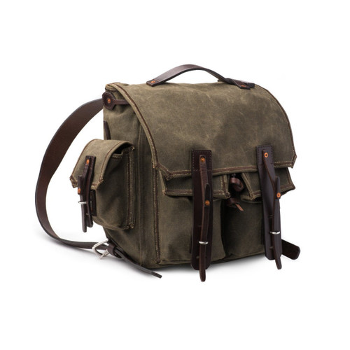 5 Pocket Weatherproof Canvas Backpack