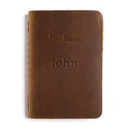Leather Pocket Bible, Book of John