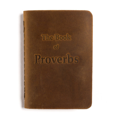 Leather Pocket Bible, Book of Proverbs