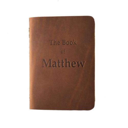 Leather Pocket Bible, Book of Matthew