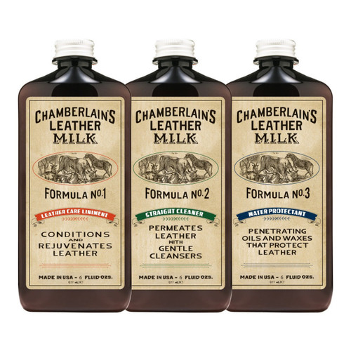 Leather Care Chamberlain's Leather Milk Set 1-2-3