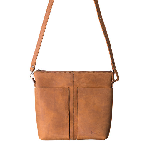 Minimal Leather Tote