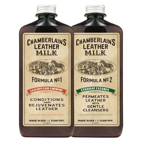 Chamberlain's Leather Milk Set of 1 & 2 6oz