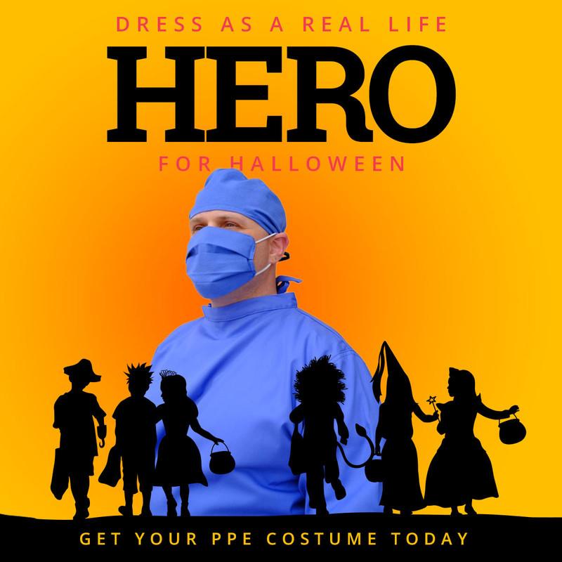 Real Life Hero - Halloween Costume (Final Sale - Non-Returnable)
