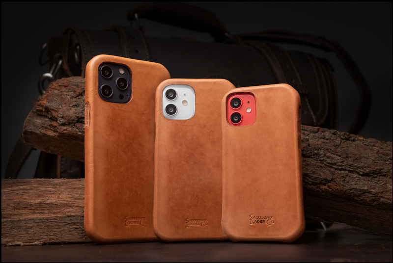 Boot Leather iPhone 12 Case