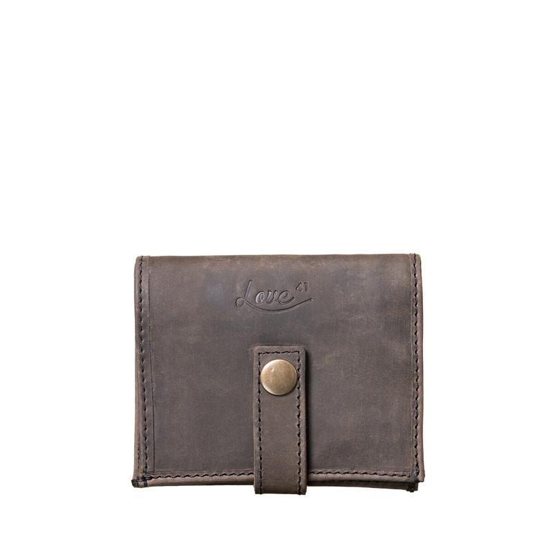Suzette's Steals Chestnut Bifold Leather-New Design-Black