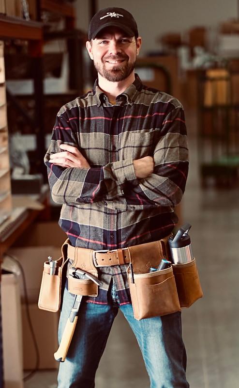 Leather Tool Belt Set