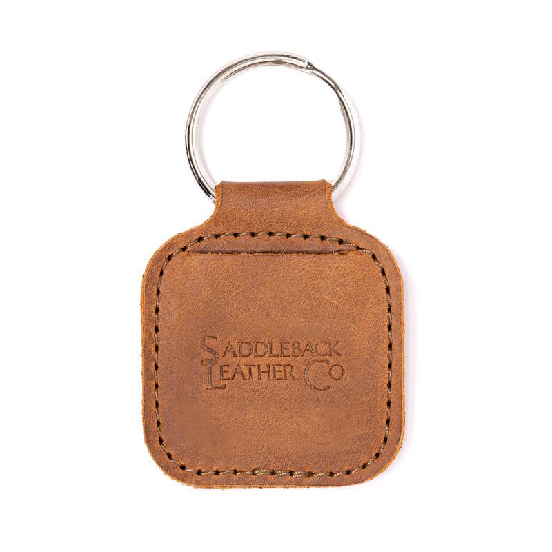 Leather AirTag Keychain Case - The Sleeve