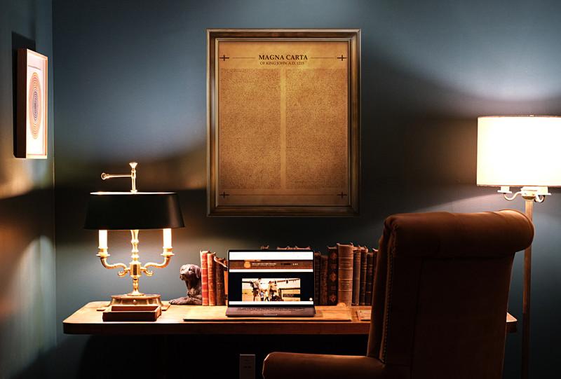 Leather Magna Carta