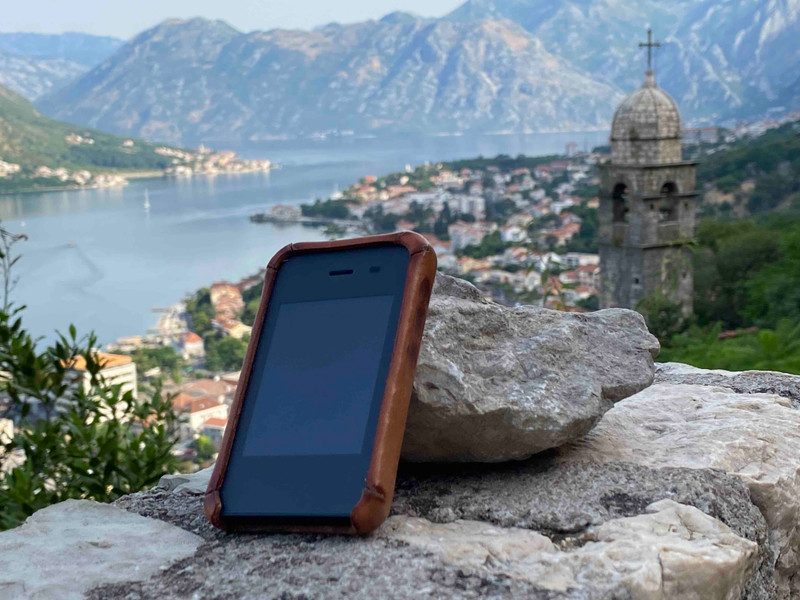 Leather Light Phone II Case