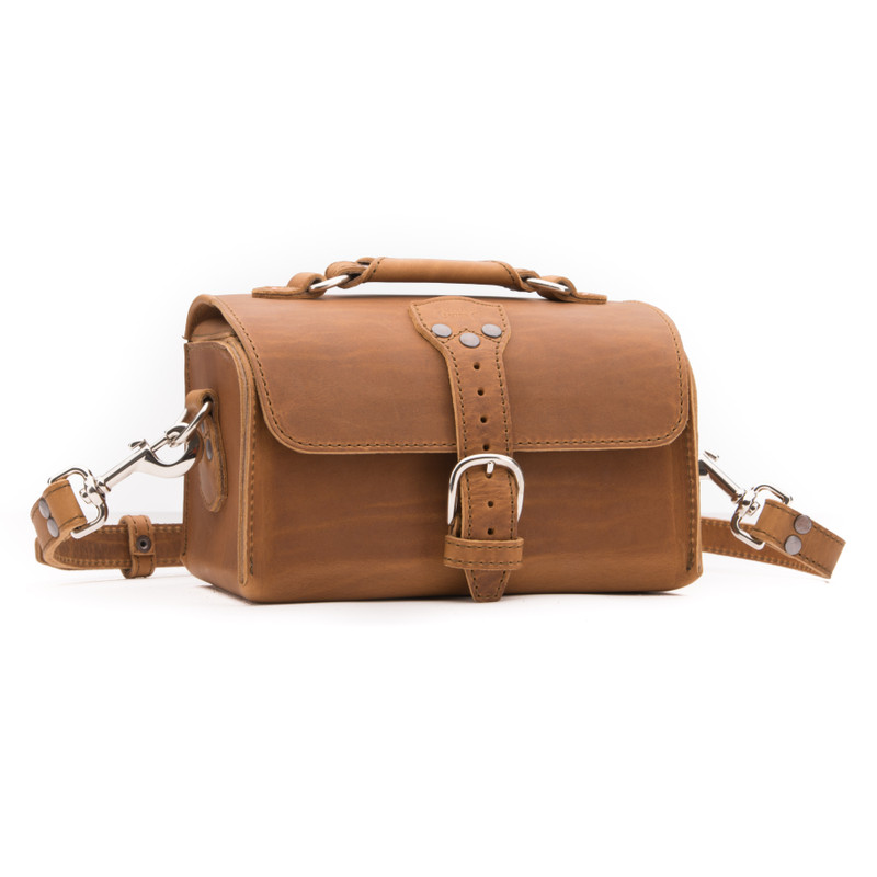 Simple Leather Toiletry Bag