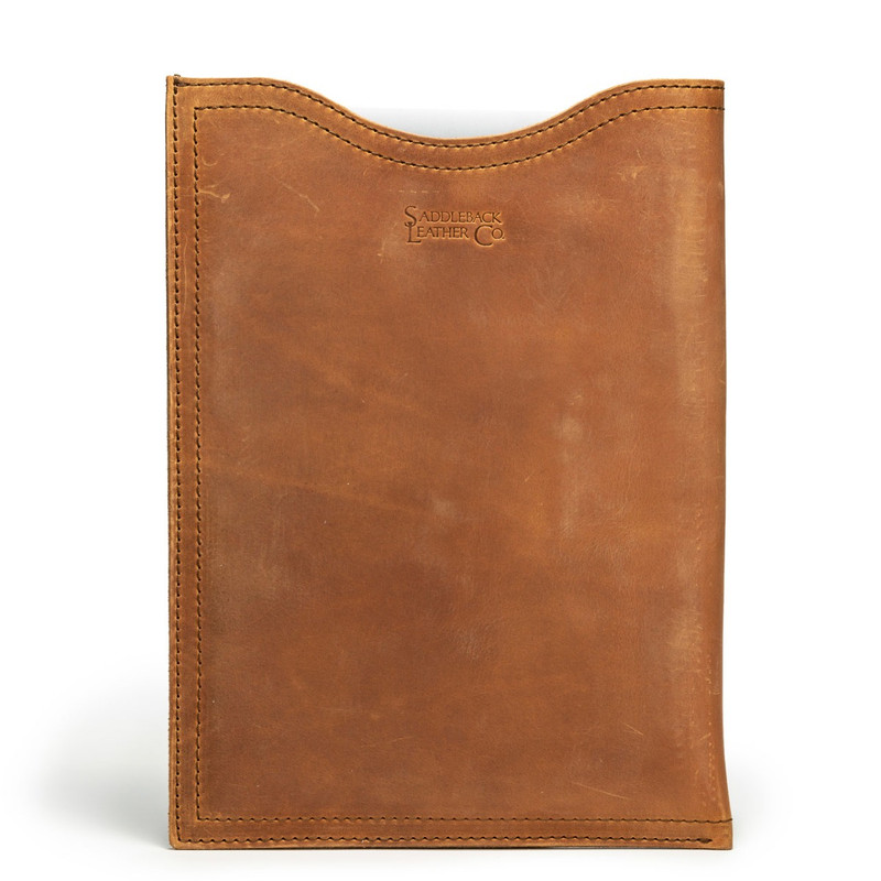 "12"" Leather Laptop Sleeve"