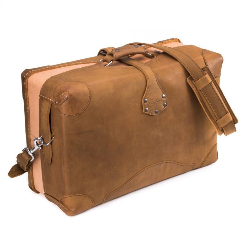 Softsided Leather Luggage