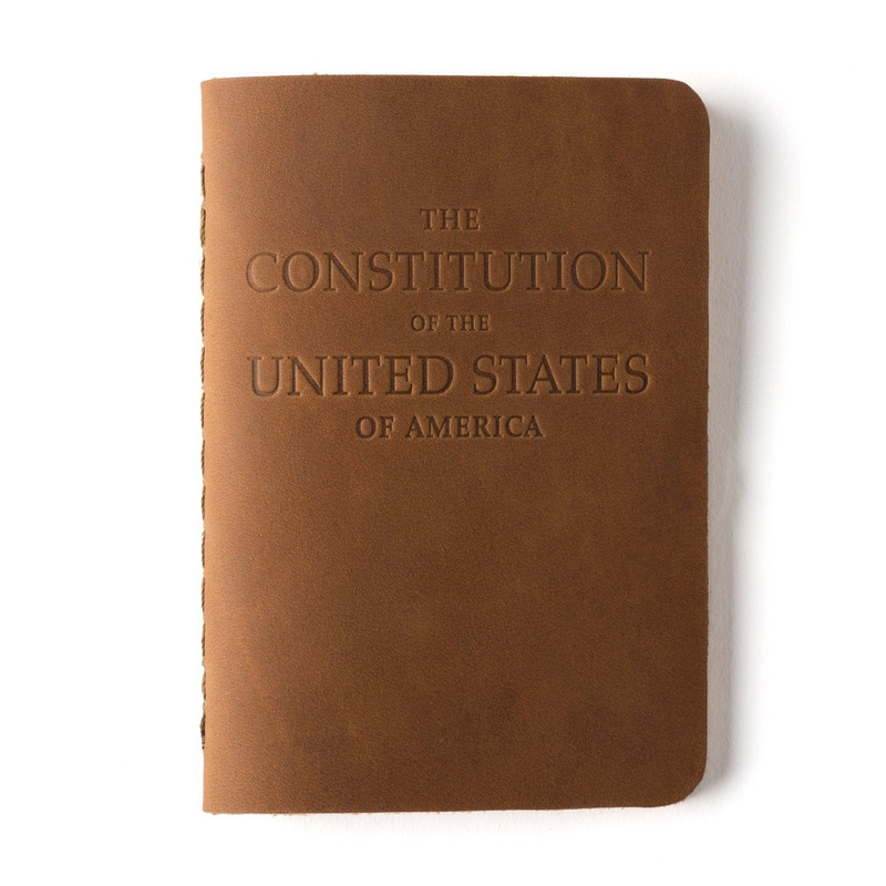Leather Pocket Constitution of the United States