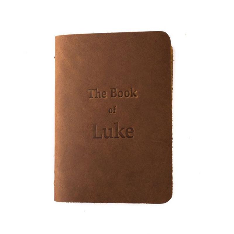 Leather Pocket Bible, Book of Luke