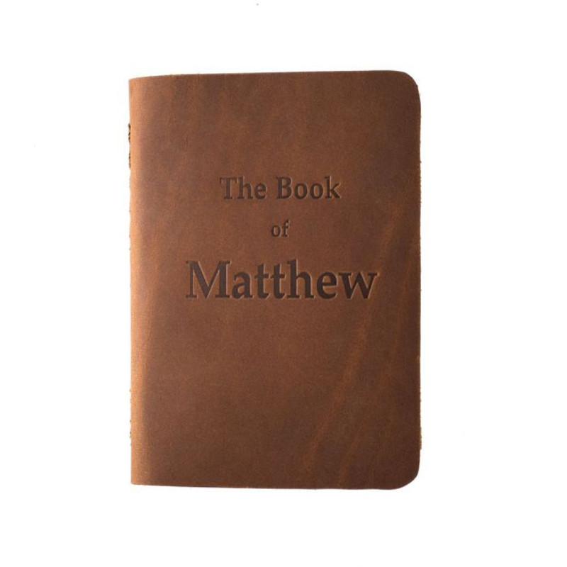 Leather Pocket Bible, Book of Matthew