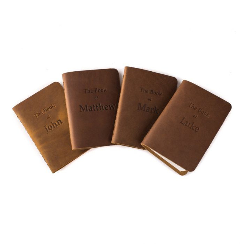 Leather Pocket Bibles, Four Gospels