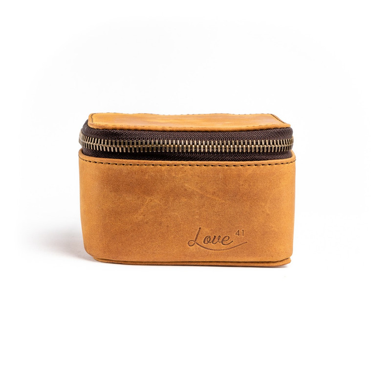 Small Leather Jewelry Box