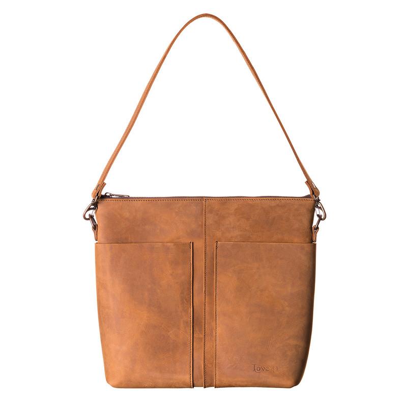 Minimal Leather Tote