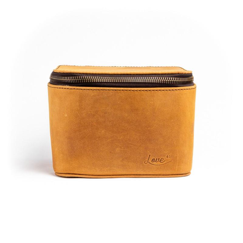 Large Leather Jewelry Box