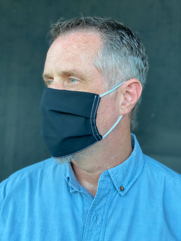 Reusable Cloth Facemasks with Elastic - Pack of 5