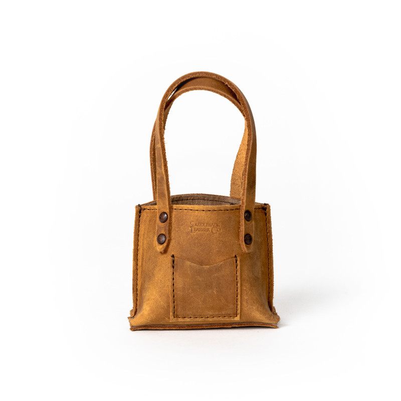 Mini Large Urban Tote - Tobacco