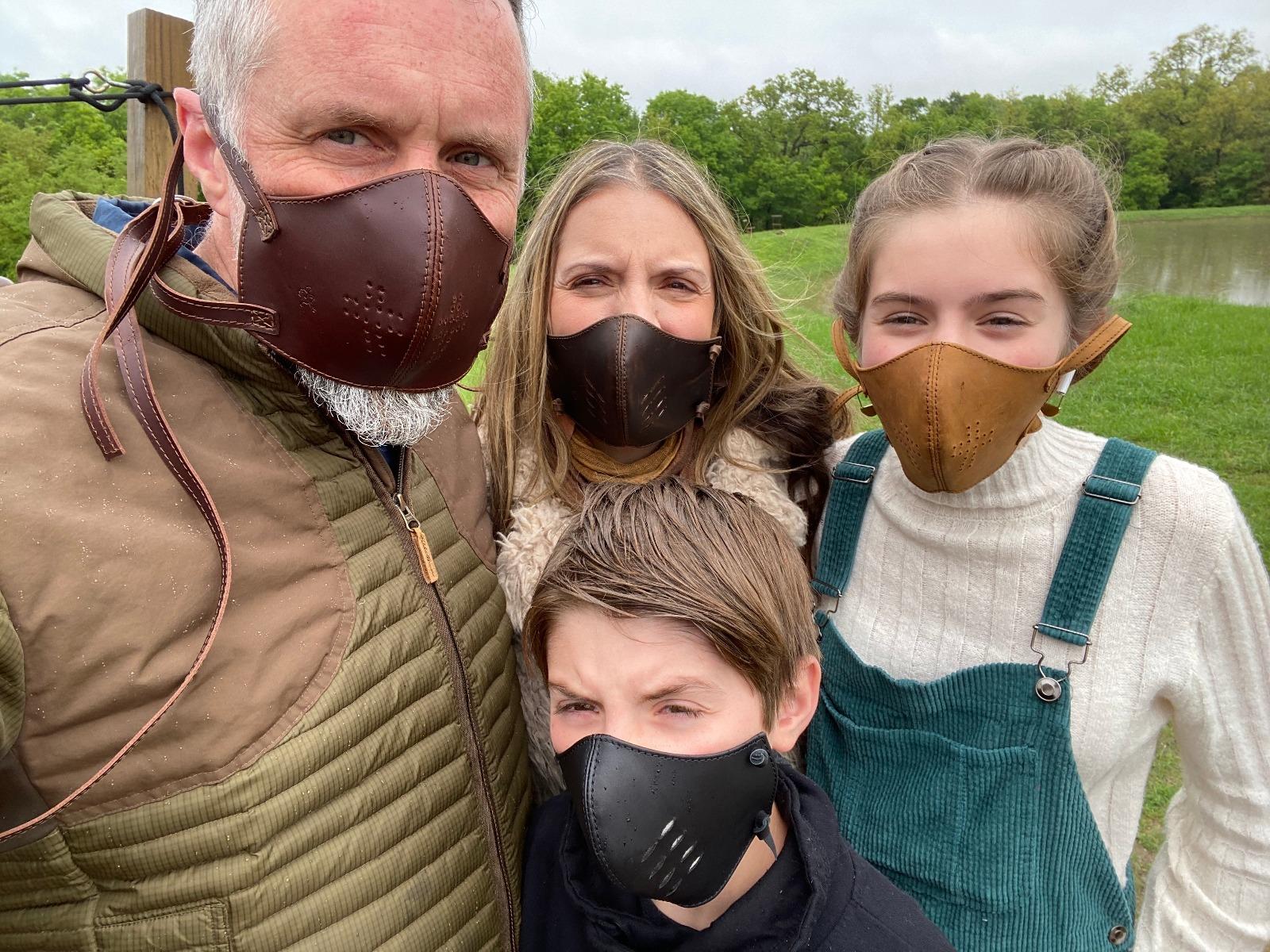 leather face masks Saddleback Leather