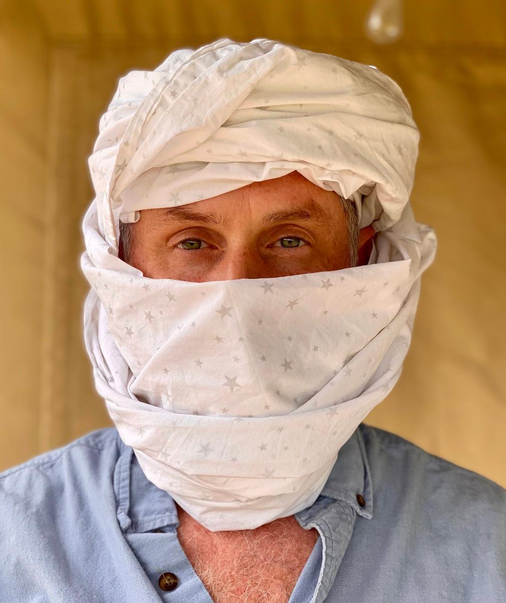 sheet head face mask