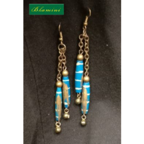 Wooden Earrings Design 2