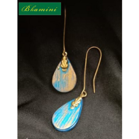 Wooden Earrings Design 7