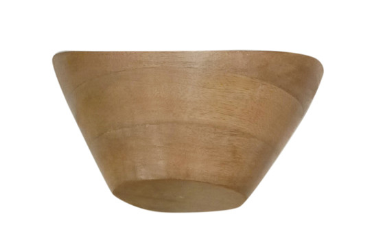 Wooden Laminated Printed Serving Bowl D12