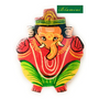 Wooden Ganesha Painted Magnet