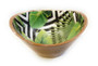 Wooden Laminated Printed Serving Bowl D09