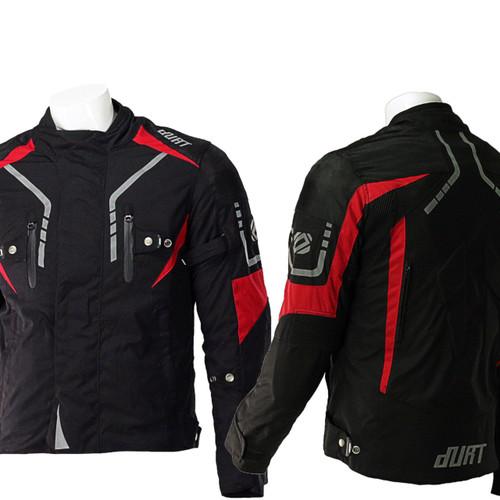 Harpoon Black- Red / Мотоциклетно Яке