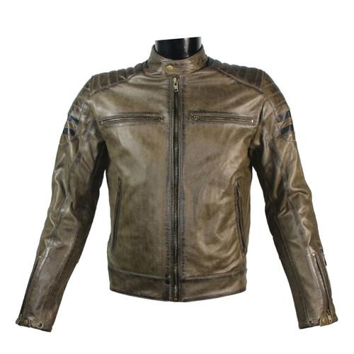 Retro Brown Leather Jacket / Кожено Яке