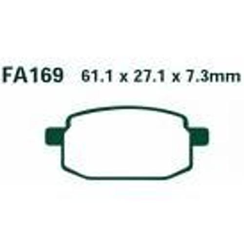 Brake pads FA169