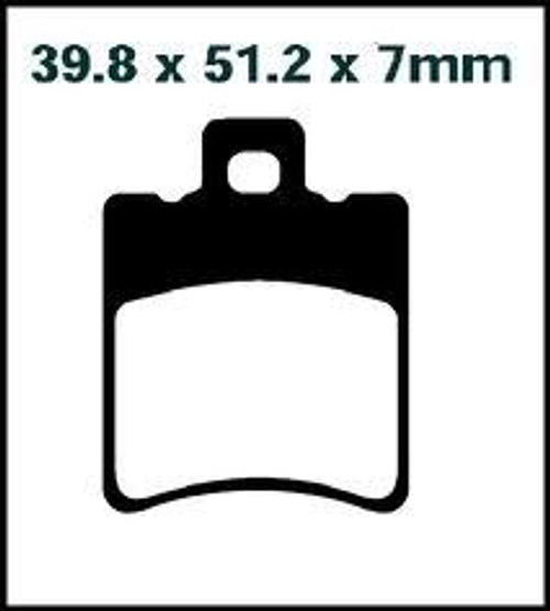 Brake pads SFA193