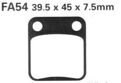 Brake pads FA54