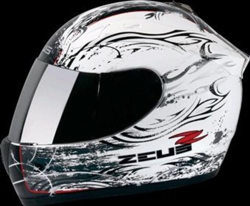 ZEUS HELMET FULL FACE ZS-2000A Z15 WHITE/BLACK