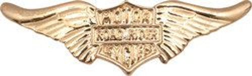 WING ORNAMENT GOLD