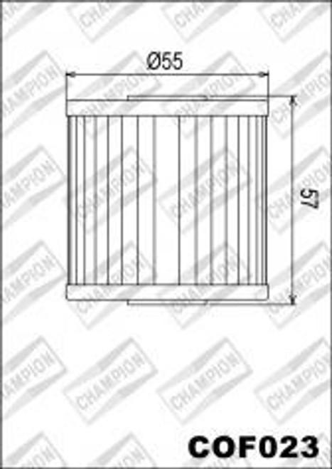 CHAMPION FILTER COF023 (X310)