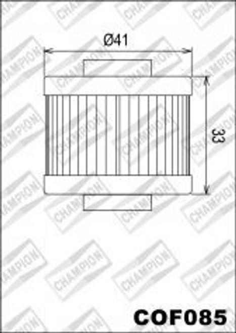 CHAMPION FILTER COF085 (X325)