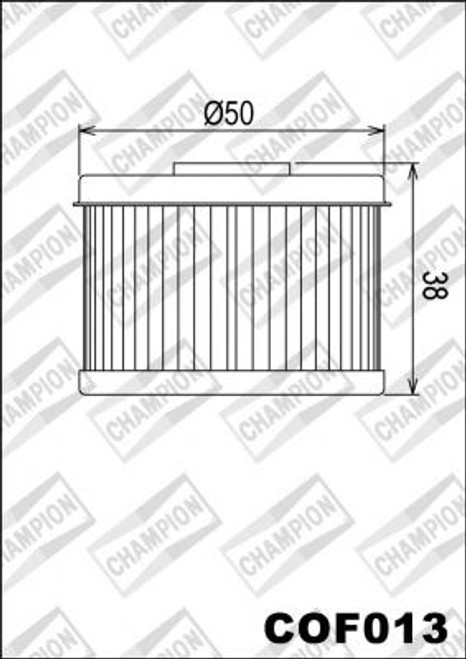 CHAMPION FILTER COF013 (X356-301)