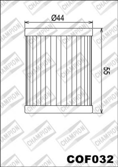 CHAMPION FILTER COF032 (X355-X328)