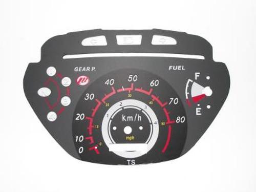 Dashboard meter / C0017