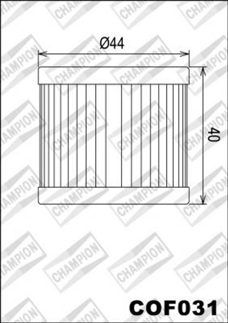 CHAMPION FILTER COF031 (X327)