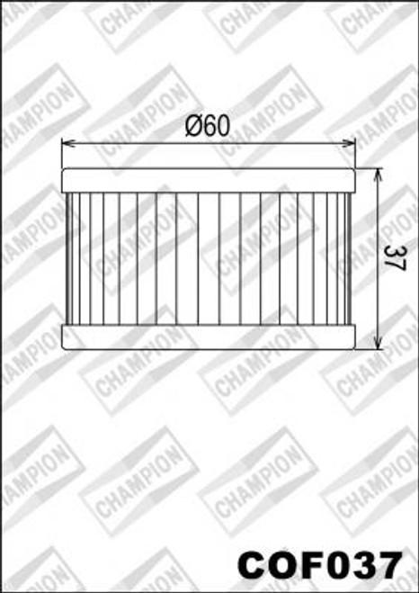 CHAMPION FILTER COF037  (X308)